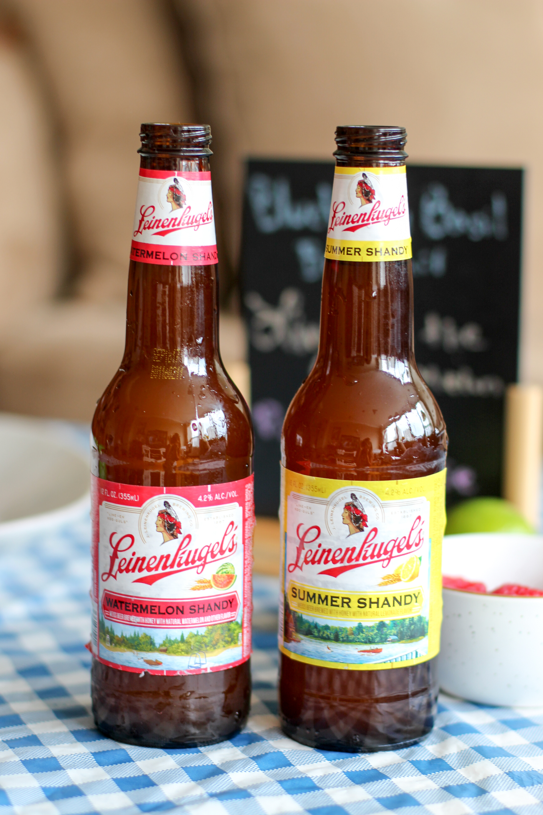 Weiss Beer With Natural Lemonade And Watermelon Flavors