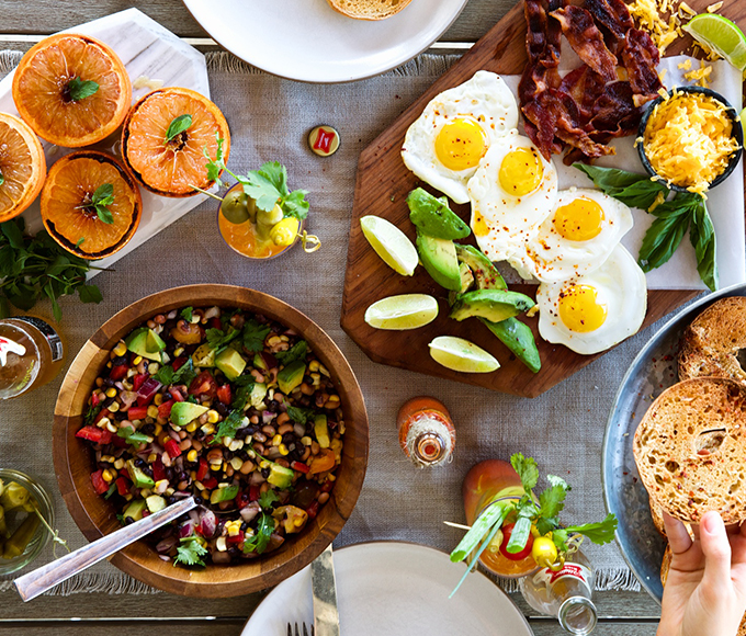 Article Summary - New Year's Brunch